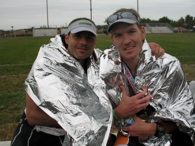 Brady and Me After The Race