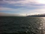 A view back towards the Golden Gate Bridge as the fogs lifts somewhat.